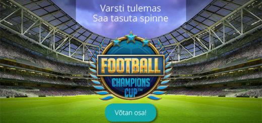 Chanz Kasiinos Football Champions Cup tasuta spinnid
