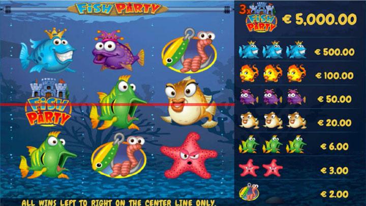 Fish Party auhinnafondi loosimine