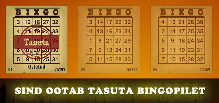 Paf Quick Draw Bingo - tasuta bingopilet kõigile