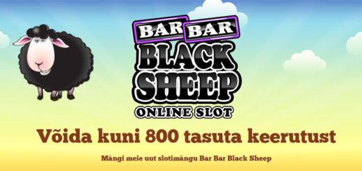 Võida Black Sheep mänguautomaadil 800 tasuta keerutust