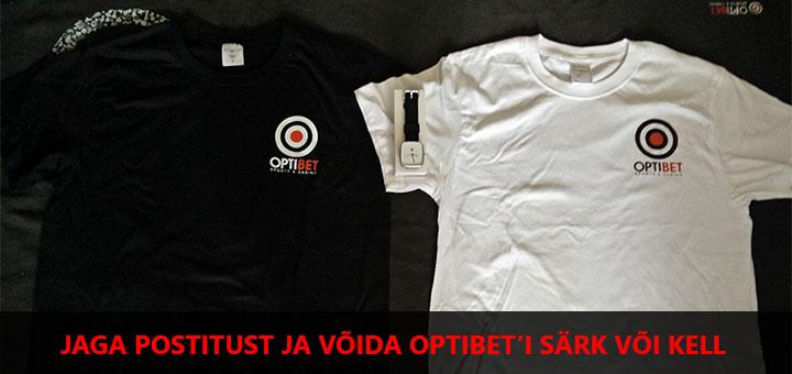 Jaga pakkumist ja võida Optibeti särk või kell