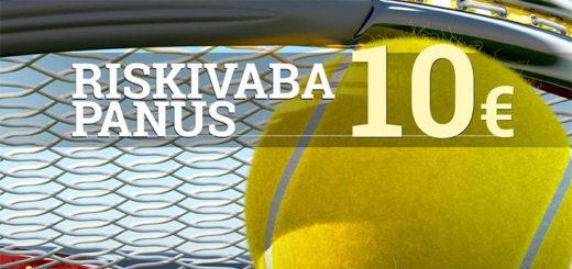 Optibetis Wimbledoni tenniseturniiri riskivaba panus