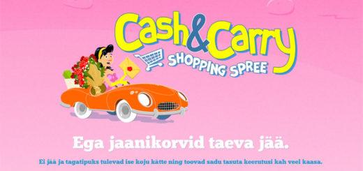 Paf Shopping Spree tasuta spinnide ja jaanikorvide loos