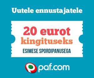 Paf annab uutele liitujatele tasuta 20 eurot