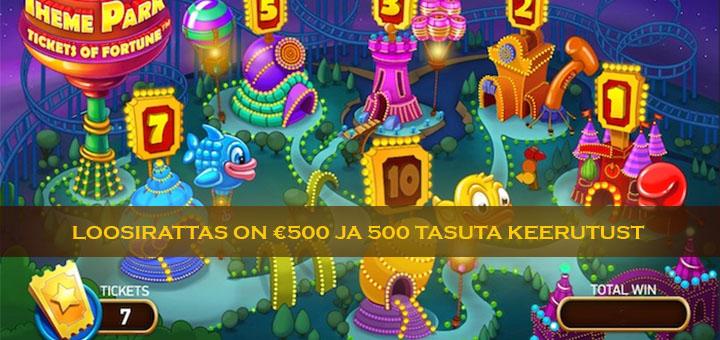 Chanz Kasiino nädalaloos - võida 500 eurot või tasuta keerutused