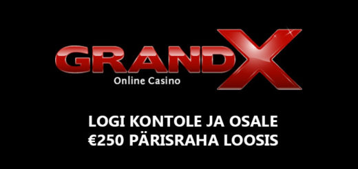 GrandX Online Casino 250-euro loos