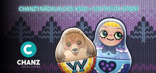 Chanz Casino Eesti nädalaloos