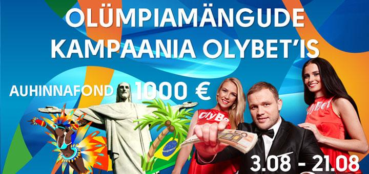 Olümpiamängude kampaania OlyBetis