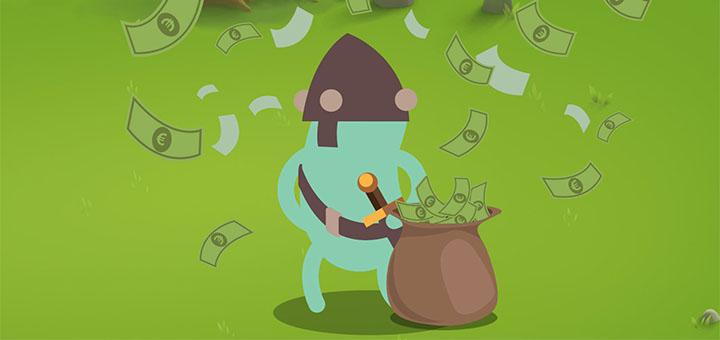 Paf Little Big Heroes - 1000 euro loos