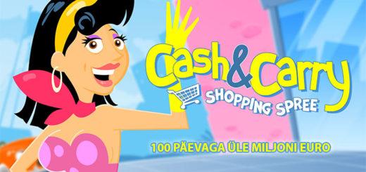 Paf Shopping Spree jackpot saja päevaga on jagatud ära üle miljoni euro