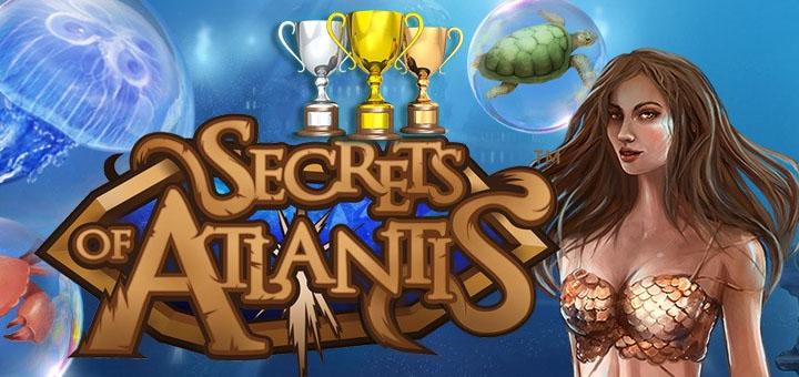 Unibet Kasiino Secret of Atlantis slotiturniir 10000 eurot