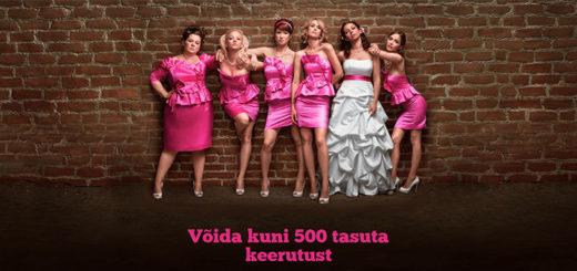 Võida slotimängus Bridesmaids saavutustega 500 tasuta keerutust