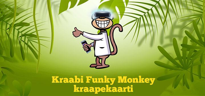 Funky Monkey kraapekaart võida Galaxy Note 7