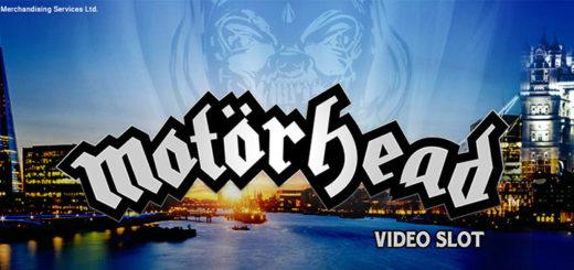 Motörhead Londoni reis - tasuta spinnid ja 20 000 euro slotiturniir