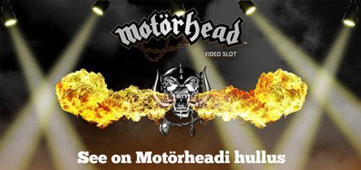 Motörhead Pafis - tasuta spinnid ja londoni reis