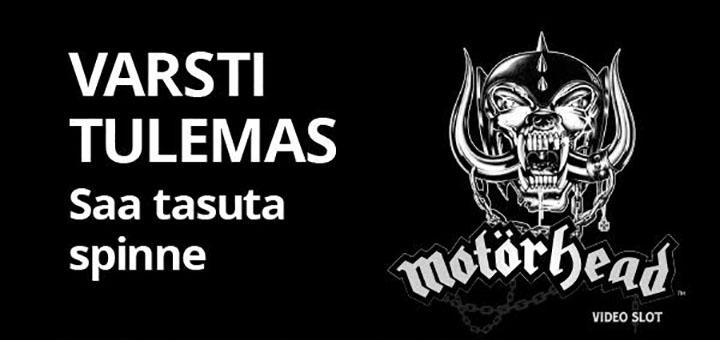 Motörhead tasuta spinnid Chanz Kasiinos