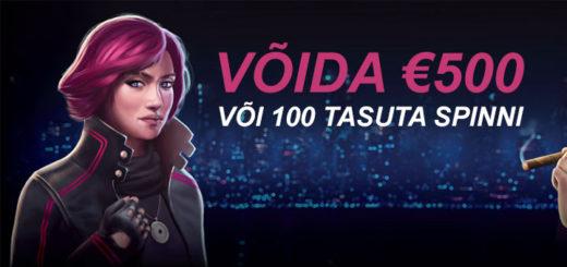 Chanz Kasiino Eesti 40 nädala loos