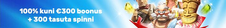 OlyBet kasiino boonused ja 300 tasuta spinni