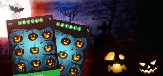 Unibet Bingo Halloween kraapekaart