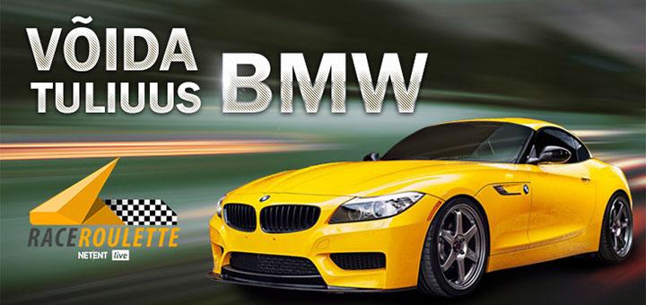 OlyBet Live Rulett võida tuliuus BMW Z4