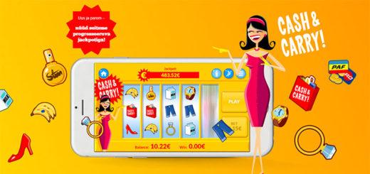 Paf Cash & Carry Mobiilis - tasuta spinnid ja jackpotid
