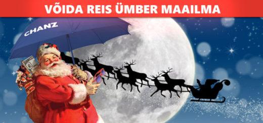 Chanz jõulukalender 2016 - võida reis ümber maailma