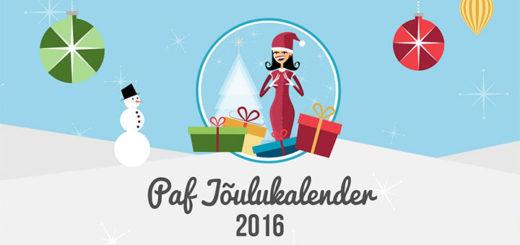 Paf jõulukalender 2016