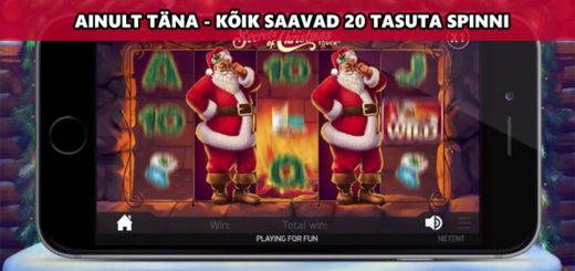 Secrets of Christmas tasuta spinnid