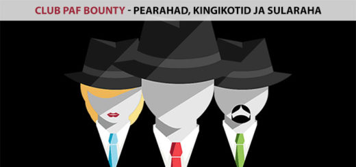 Club Paf Bounty turniir - kingikotid pearahad sularaha