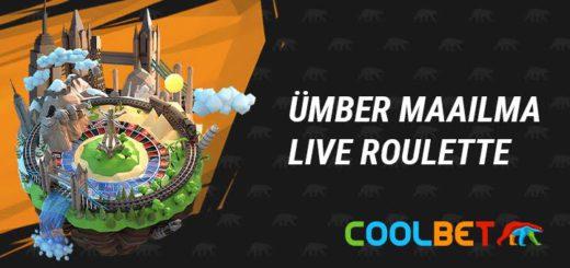 Coolbet Live Kasiino - Ümber maailma rulett