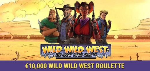 Coolbet Wild Wild West Roulette - raha ja reisiloos