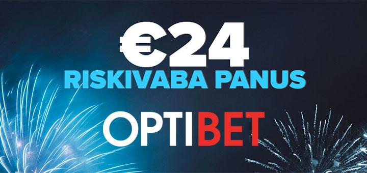 Optibet Spordiennustus - vabariigi aastapäeva puhul 24-eurone riskivaba ennustus