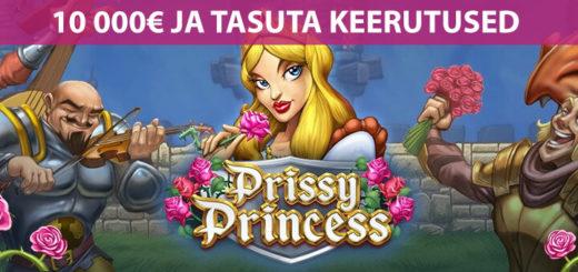 Prissy Princess 10 000 euro kasiinoturniir