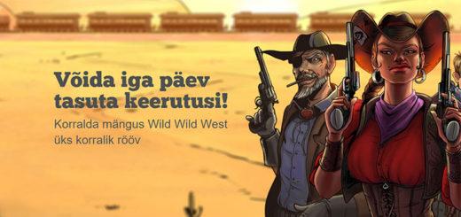 Wild Wild West - tasuta spinnid ja Texase reisi loos