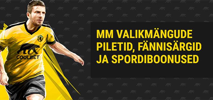 e6aaa3ff190 Coolbet Eesti jalgpalli kõrgeima koefitsiendi võistlus koos vingete  auhindadega