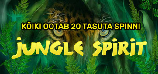 Jungle Spirit tasuta spinnid ja tasuta keerutused