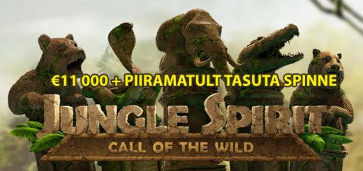 Paf Jungle Spirit turniirid ja tasuta spinnid