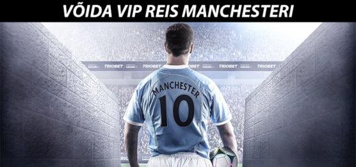 Triobet Betsafe - võida VIP reis Manchesteri