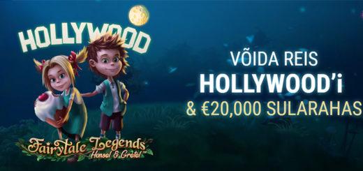 Hans & Gretel - võida sularaha ja reis Hollywoodi