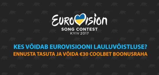 Coolbet Eurovisioon 2017 finaali ennustusvõistlus