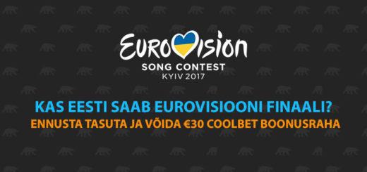 Eurovisioon 2017 Coolbet'i tasuta ennustusmäng