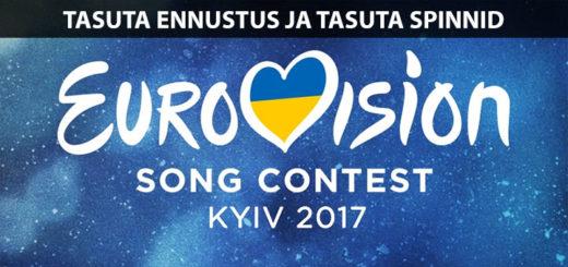 Eurovisioon 2017 Unibetis - tasuta ennutused ja tasuta spinnid