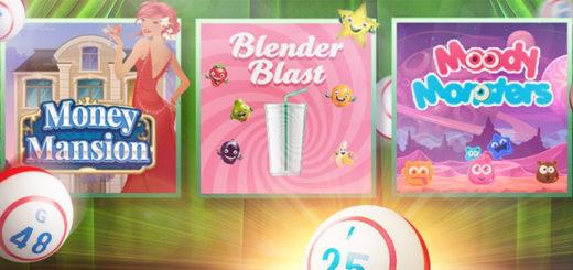 Unibet Bingo Spinfest 2017 - tasuta spinnid bingo minimängudes
