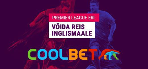 Coolbet Premier League eri - võida reis Inglismaale