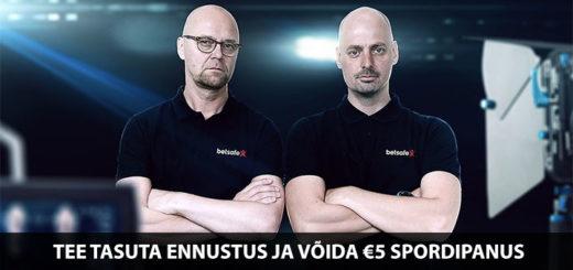 Jalkagurud Kruus ja Vara - tee tasuta ennustus ja võida €5 spordipanus Betsafe spordiennustuses