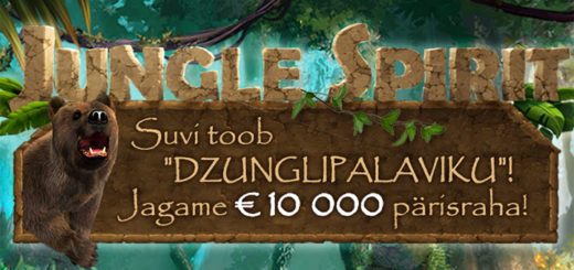 Netent Jungle Spirit rahaloos Eesti kasiinodes