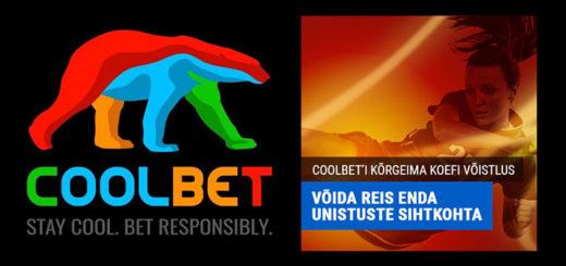 Coolbet spordiennustus kõrgeima koefitsiendi võistlus - võida reis oma unistuste sihtkohta