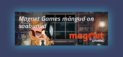 Magnet Games kasiinomängud on jõudnud Chanz kasiinosse