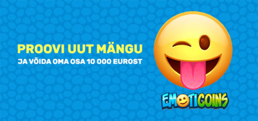 Chanz Casino - proovi uut mängu Emoticoins ja võida osa 10 000 eurost