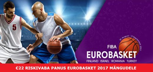 OlyBet spordiennustuses 22-eurone riskivaba panus Eurobasket 2017 mängudele